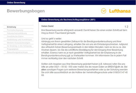nach 10000 jahren lofterde blog pilotenausbildung die lufthansa - Bewerbung Lufthansa