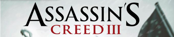Assassins creed 3 banner Assassins Creed 3   Cover enthüllt