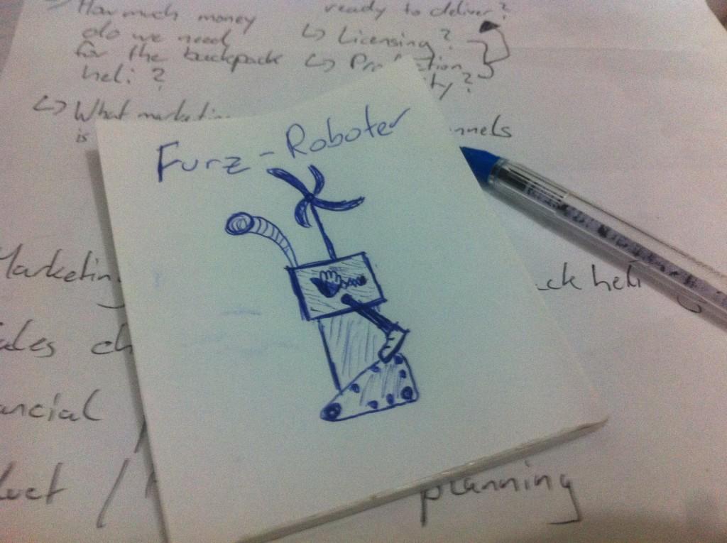 Wie ich mir den Furz-Roboter so in etwa vorstelle