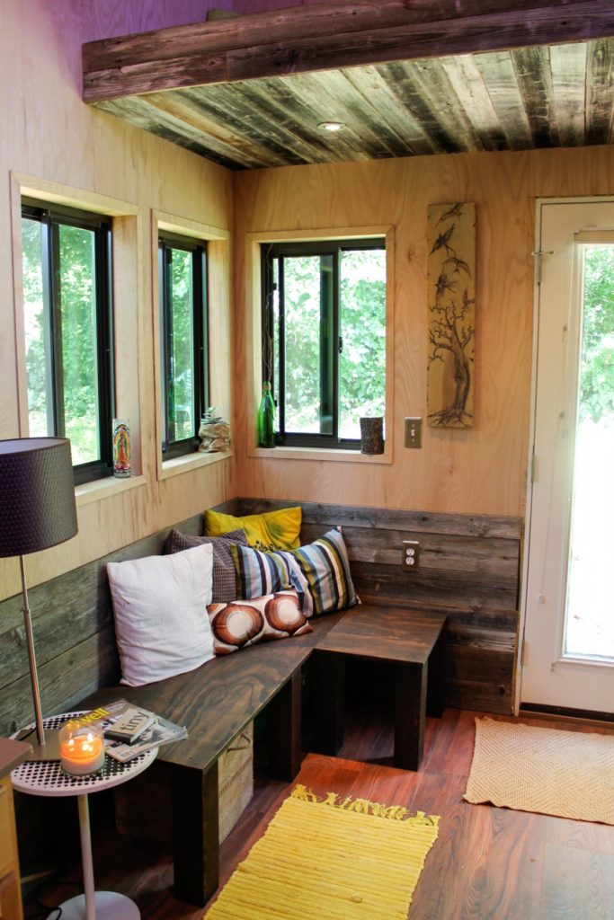 weber-used-wood-scraps--gifted-by-families-who-sheltered-him-during-construction--to-create-a-seating-area-thats-how-their-homes-live-on-with-me-he-says
